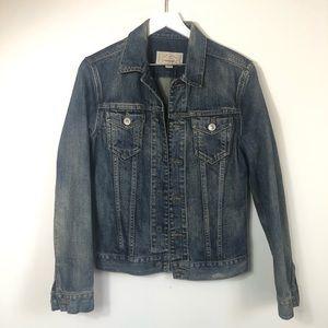 All Saints denim jean jacket size XS